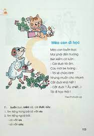 Bài 109: Nhà trường - Sách Tiếng Việt Lớp 1   Sách giáo khoa, Câu chuyện xã  hội, Bài học mầm non