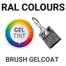 Polyester Brush Gel Coat Coloured Ral Colours Any Colour