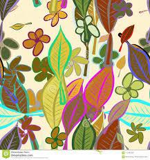 Motif Designs Wallpaper Wallpaper Designs Nature Motif Seamless Il Of Leaves