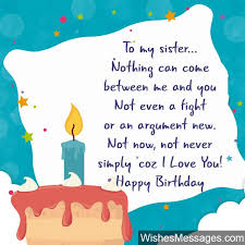 Quotes For Sister Birthday Inspiration Birthday Wishes For Sister Quotes And Messages WishesMessages