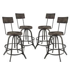 set of 4 bar stools. Set Of 4 Bar Stools I