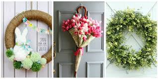 wreaths for front doorsSpruce Up Your Front Door With These DIY Wreath Ideas  DIY Cozy Home