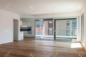 Sliding Door Designs For Balcony Interior Of Empty Apartment Room With Balcony Sliding Door