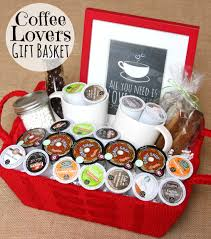 coffee gift basket basket gift coffee gift baskets gift baskets for kids