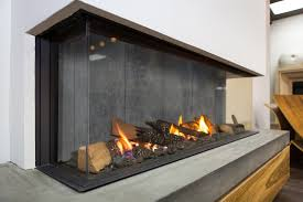 new modern gas fireplace