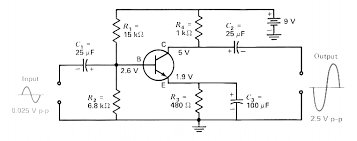 transistor a transistor circuit diagram sample