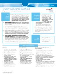 quality control resume. 14 Awesome Quality Assurance Resume Sample Templates WiseStep