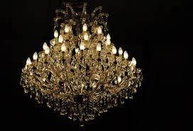 inspiring chandelier candle candle chandelier diy crystal hinging black background light beautiful elegant