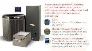 lennox touchscreen thermostat. dave lennox signature® collection touchscreen thermostat