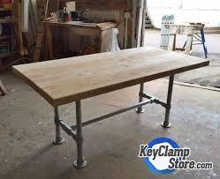 kee klamp table frame