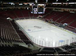 Raleigh Coliseum Seating Chart Pnc Arena View From Club Level 215 Vivid Seats
