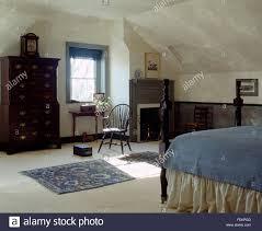 North Carolina Bedroom Furniture 19th Century Bedroom With Period Furniture And Ceramic Stove In