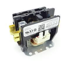 b13603 21 goodman contactor 2 pole 30 amp 24 volt coil 24 Volt Trolling Motor Diagram 24 Volt Contactor Wiring Diagram #35