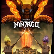 Lego Ninjago Season 11 Fire Chapter Poster