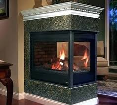 peninsula 3 sided electric fireplaces fireplace beautiful radiator logs gas th 3 sided electric fireplace
