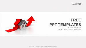 Powerpoint Real Estate Templates Free Growing Real Estate Profit Powerpoint Template