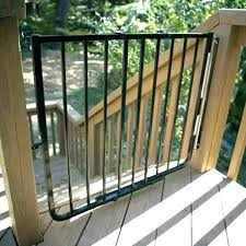 dog ramp for outdoor stairs stair gate deck baby safety pet gates cardinal bk outside how dog ramp