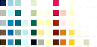 Wickes Paint Chart