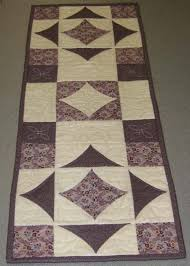 10 Minute Table Runner Pattern Delectable Five Minute Quilt Block Table Runner 48 48 Pm