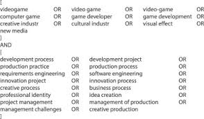 Game Development From A Software And Creative Product Perspective A