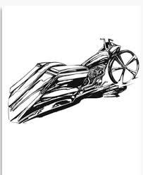 motorcycle harley davidson wall art