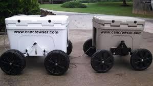 can crewser cooler caddy wheels beach rolling cooler for yeti igloo regarding beach cooler with wheels
