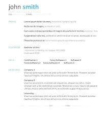 Traditional Resume Template Free Best of Traditional Resume Template Free Resume Templates Free Astounding