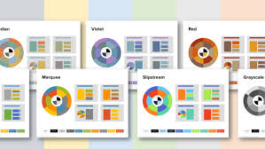 office color palettes. Example Of PowerPoint Color Themes Office Palettes