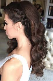 Hairstyle Curls best 25 curly prom hair ideas curly homeing 7769 by stevesalt.us