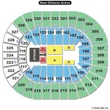 Smoothie King Arena Seating Chart Center Floor Plan Online Charts Collection
