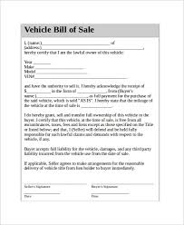 Equipment Bill Of Sale Template Florida And Restaurant Equipment ...