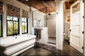 Subway Tile Bathroom Designs Awesome Decoration