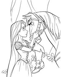 Small Picture Princess Rapunzel Stared At Horse Coloring Pages homeschool