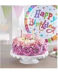 Great Summer Sales On Birthday Wishes Flower Cake Pastel Small With