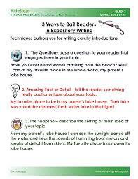 paragraph essay prompts for middle school thesis custom  writing prompts student rubrics and sample responses glencoe