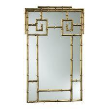 gold bamboo mirror. Bamboo Wall Mirror Gold