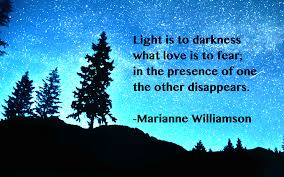 Light Quotes Williamson quote Light is Inspirational quotes 18