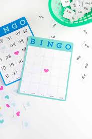 Printable Blank Cards Free Printable Blank Bingo Cards Design Eat Repeat
