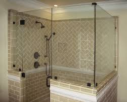 half wall shower enclosure nonsensical custom glass works of fort mill sc serving north and south