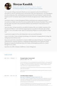 Technical Resume Samples Visualcv Resume Samples Database