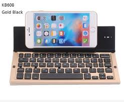 5 colors KB608 Universal Wireless Bluetooth Keyboard IOS Android