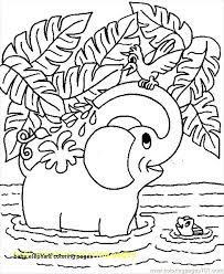 Baby Elephant Coloring Pages Baby Elephant Coloring Pages Unique