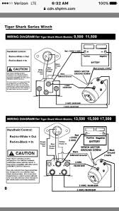 ramsey winch remote wiring diagram images ramsey winch wiring winch motor wiring diagram automotive