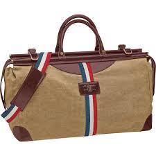 st dupont iconic bogie duffle bag in beige cognac includes matching shoulder strap