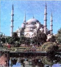 Мухаммед и возникновение ислама История Реферат доклад  Голубая мечеть в Стамбуле Современное фото