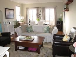 Overstuffed Living Room Furniture Arrange Couch Loveseat Small Living Room House Decor