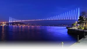 pictorial essay awesome bridges of the world the burning bosphorus bridge turkey the bridge that connects two continents