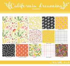 Pattern Collection Simple Big News California Dreaming Collection Release 48 Giveaway