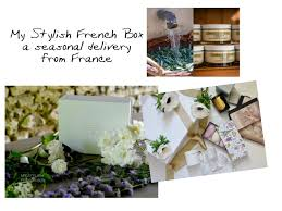 the scents of provence were brought into my home today as my stylish french box arrived from france