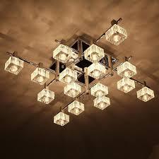 modern semi flush mount ceiling light with g4 bulb base semi flush mount chandelier bronze